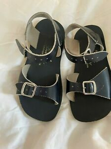 Navy Salt Water Sandal by Hoy Shoes Sun-San - Surfer (Toddler/Little Kid 10) Pre