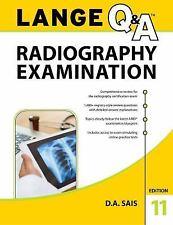 LANGE Q&A Radiography Examination, 11th Edition, Saia, D.A., New Book