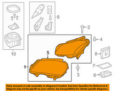 Mercedes MERCEDES-BENZ OEM CLS400-Headlight-Head light Headlamp Assy 2188203759