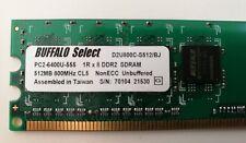 MEMORIA RAM 512 Mb DDR2 SDRAM 800 MHZ BUFFALO