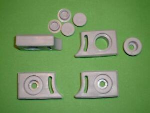 Shower Door Bump Stop  Rollers, Wheels, Runners. 4 x SR02