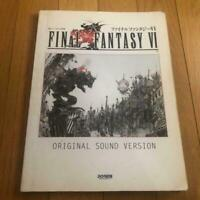 Score book USED FINAL FANTASY IV 4 PIANO COLLECTIONS 1992 Squaresoft Ver