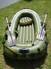 Inflatable dinghy Zodiac Sevylor round boat Fish Hunter