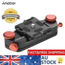 Andoer Metal Quick Release Camera Waist Belt Strap Mount Clip f Nikon Canon DSLR