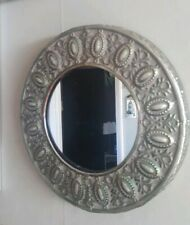 Vintage Style Ornate Metal Framed Wall Mirror