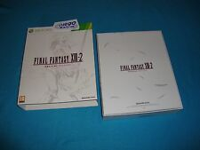 Final Fantasy XIII-2 Crystal Limited Edition XBOX 360 Pal España + Preorder X360