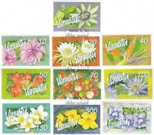 Vanuatu 1284-1293 mint never hinged mnh 2006 clear brands: Flowers