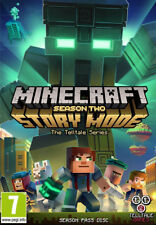 Minecraft: Story Mode - Season 2 Pass Disc (PC)  NEW AND SEALED - QUICK DISPATCH
