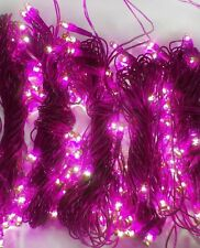 Set Of 10 Rice Lights Bulbs Decoration Light For Diwali Christmas Purple-260+ Ft