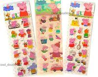 Peppa Pig Sticker Set /& Sticker Album with cut out bookmarks fun UK SELLER.
