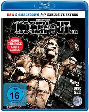 WWE No Way Out Elimination Chamber 2011 2x BLU-RAY DEUTSCHE VERKAUFSVERSION