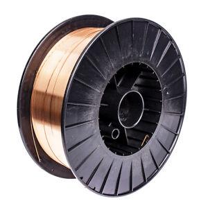S-10WW15 Copper Coated MIG Welding Wire A18 1.0mm - 15kg Reel CO2 Mild Steel