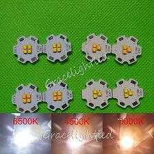 CREE XBD 9V 9W 3 /4 LED 12V 12W  Warm /Neutral/ Cool White led chip +20mm base