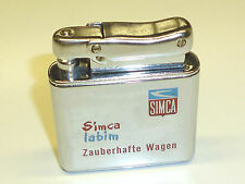 "IBELO MONOPOL AUTOMATIC POCKET WICK LIGHTER ""SIMCA"" - FEUERZEUG - 1952 - GERMANY"