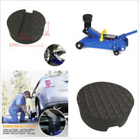 Floor Slotted Rubber Jack Pad Jacking Disk Pad For Pinch Weld Side Lifting Disk