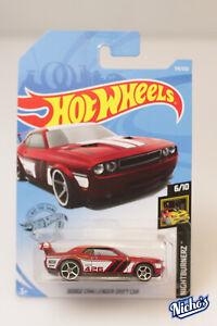 Hot wheels Dodge Challenger Drift Car #179/250 * RED *