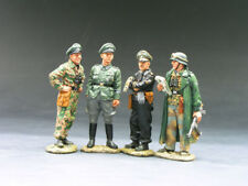 KING AND COUNTRY WS075 WSS075 - COMMANDERS CONFERENCE - WWII GERMAN FORCES 1:30
