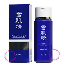 New KOSE SEKKISEI White Foaming Face Wash Powder Whitening Moisture 100g