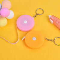 1.5m*7mm Candy Color Small Plastic Retractable Tape Measure School Sup_AU