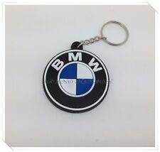 BMW Keychain Keyring Rubber Motorcycles Car Logo BadgeRacing Motor Sport Biker