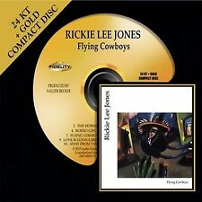 RICKIE LEE JONES - Flying Cowboys - GOLD CD - OUT OF PRINT - AFZ 064