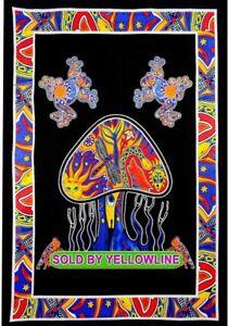 Mushroom Tapestry Bohomen Indian Wall Hanging Wholesale (77cmX102cm)B-03
