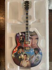 Elvis Bradford Exchange Rockin' Through the Years A Legend in Lights Guitar
