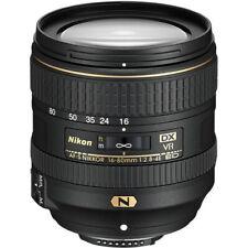 Nikon AF-S DX NIKKOR 16-80mm f/2.8-4E ED VR Lens - 20055