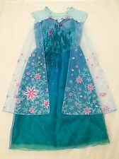 Girls Elsa 'Frozen Fever' New Costume Dress Size 2 - 6 years old