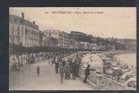 43686) AK San Sebastian Paseo y Hoteles de la Concha 1913