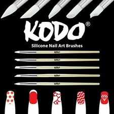 PRO Kodo SILICONE NAIL ART 5 pezzi Brush Set perfetto per saloni di/estetisti