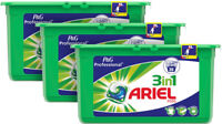 Ariel 3 In 1 Liquitabs 3X 35 Pack Clothes Wash 105 Washes Capsules Cleaning Pods