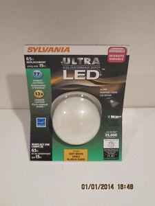 SYLVANIA 15-Watt(65W)BR30 Medium Base Soft White Indoor LED Flood Light Bulb-NIP