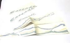 Nuovo Originale Citroen Cascade Adesivi Kit Set Per Ax 1986-1998 Special Edition