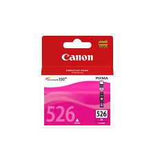 Canon Ink Cartridge Cli526m Magenta Inkjet 437 Pages OEM