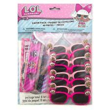 LOL Surprise Doll 48 pc Party Birthday Sunglasses Bracelets Stickers Tattoos