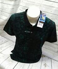 HAJO POLO stay fresh T- Shirt Poloshirt  Kurzarm 6 XL 64 BW EL Poly Flower grün
