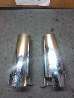 98-03 Kawasaki VN1500 E VN 1500 Vulcan upper top fork tube shock cover dented