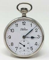 Orologio Perseo fs ferrovie caliber cortebert 160 pocket watch mechanical clock