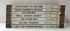 NEW Horatio Alger Classic Series Set of 7 1 2 3 4 5 6 PB Cash Boy Store