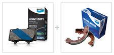 Bendix HD Brake Pad and Shoe Set fits TOYOTA HIACE SBV DB1328HD-BS5000 fits T...