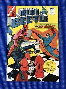 BLUE BEETLE #5 Rare 1965 Charlton *Classic RED KNIGHT Cover! 12 CENT
