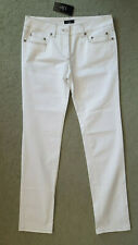 "CLIO FIRENZE - JEANS - W32""/46 - WHITE - ITALY - STRETCH"