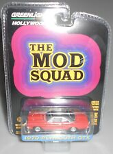 Greenlight Hollywood The Mod Squad 1970 Plymouth Gtx Orange New 2020