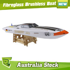 FP  Dragon Hobby 10026 0.8m Cranberry Juice Fiberglass Brushless RC Racing Boat