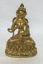 Gilt Bronze Buddha. Qing Period.