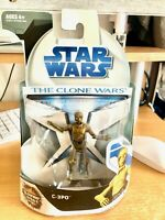 Star Wars The Clone Wars  2008 C-3PO Action Figure No.16