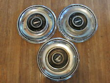 """1969 69  BUICK SKYLARK 14"""" INCH HUBCAPS WHEELCOVERS OEM SET OF 3 X3-1903"""