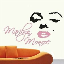 Marilyn Monroe Head Portrait Wall Sticker Decal Home Decor for Living Bed Room