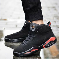 New Men's Walking High Top Ankle Sport Boots Male Running Shoes Sneakers Fashion